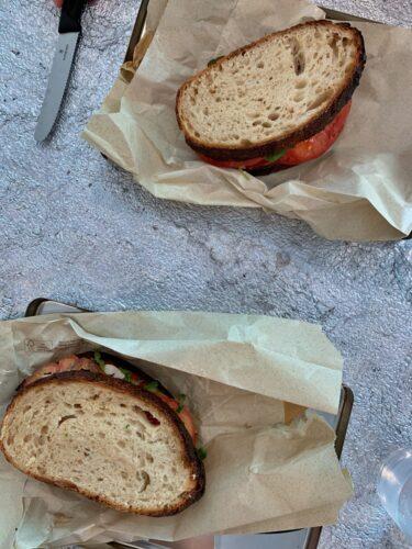 Creative sandwiches deli social