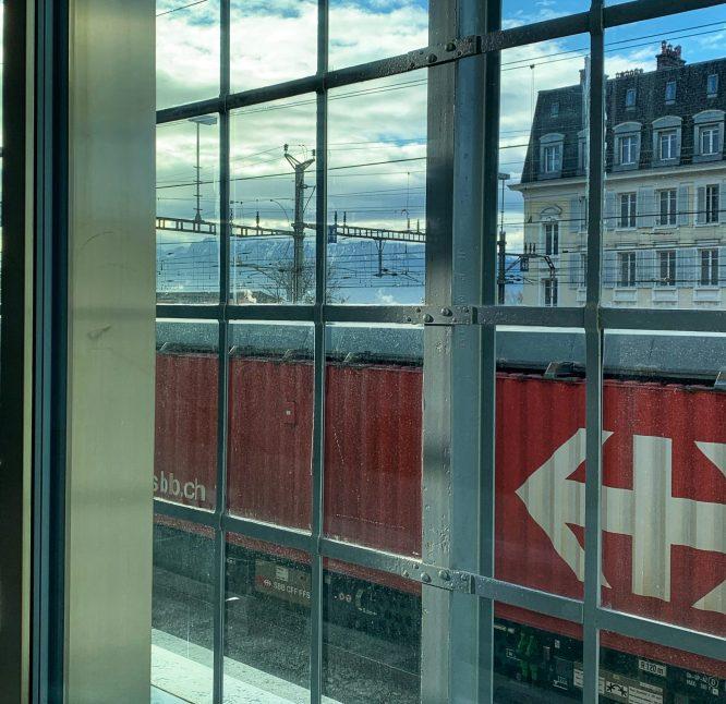 Gare Lausanne Plateforme 10