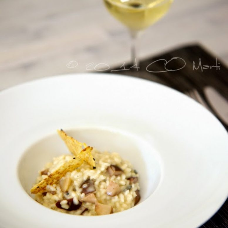 Pear and Blue Cheese Risotto